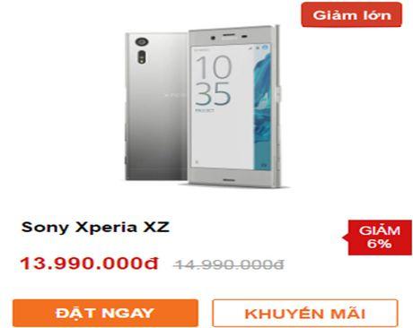 Smartphone chuyen chup anh cua Sony giam gia hap dan - Anh 2