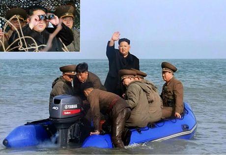 Ong Kim Jong-un bat ngo tham can cu sat bien gioi Han Quoc - Anh 1