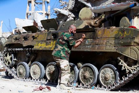 Nhin lai chien truong khoc liet, noi IS sap bi xoa so o Sirte, Libya - Anh 12