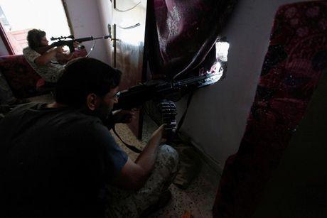 Nhin lai chien truong khoc liet, noi IS sap bi xoa so o Sirte, Libya - Anh 14