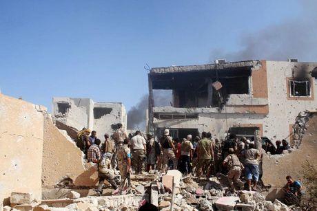 Nhin lai chien truong khoc liet, noi IS sap bi xoa so o Sirte, Libya - Anh 17