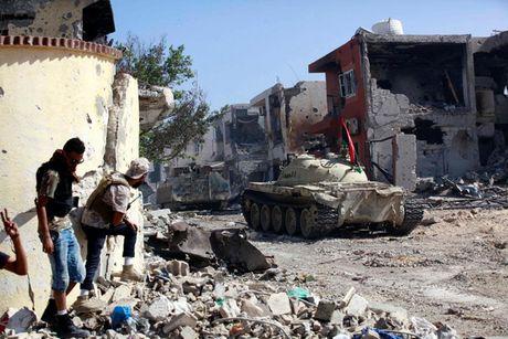 Nhin lai chien truong khoc liet, noi IS sap bi xoa so o Sirte, Libya - Anh 2