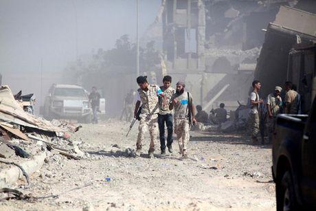 Nhin lai chien truong khoc liet, noi IS sap bi xoa so o Sirte, Libya - Anh 3