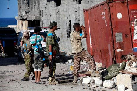 Nhin lai chien truong khoc liet, noi IS sap bi xoa so o Sirte, Libya - Anh 5