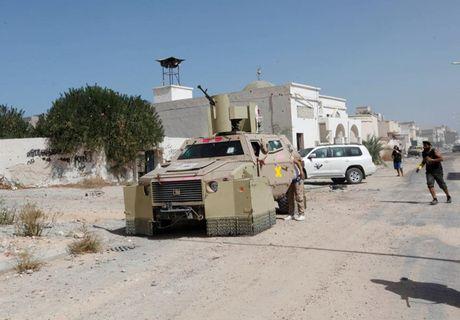 Nhin lai chien truong khoc liet, noi IS sap bi xoa so o Sirte, Libya - Anh 7