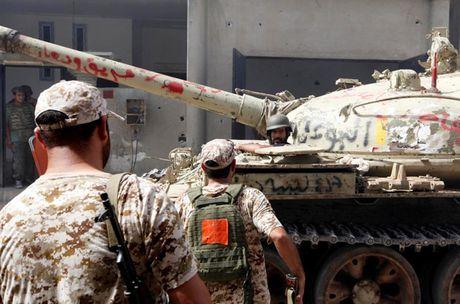 Nhin lai chien truong khoc liet, noi IS sap bi xoa so o Sirte, Libya - Anh 9