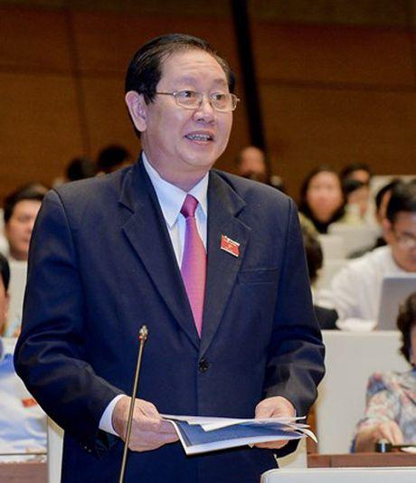 Bo truong Bo Cong Thuong Tran Tuan Anh tra loi chat van - Anh 3