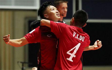 DT Futsal Viet Nam tham du giai Tu hung tai Trung Quoc - Anh 1