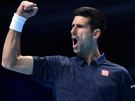 Djokovic som gianh ve vao ban ket ATP World Tour Finals - Anh 1