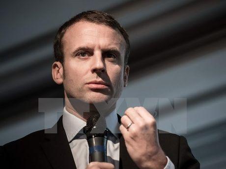 Cuu Bo truong Kinh te E.Macron tuyen bo ra tranh cu tong thong Phap - Anh 1