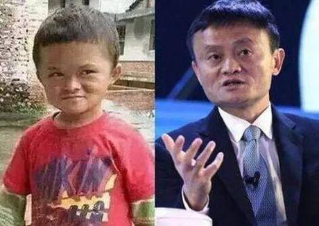 Su that viec Jack Ma chu cap cho cau be giong het minh - Anh 1