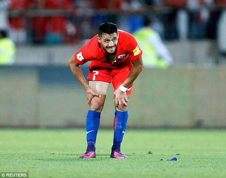 Chile 3-1 Uruguay: Alexis Sanchez toa sang, Arsenal bat an - Anh 4