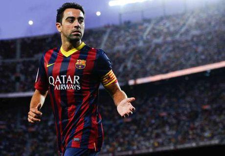 Xavi cung tien cu Coutinho cho Barcelona - Anh 1