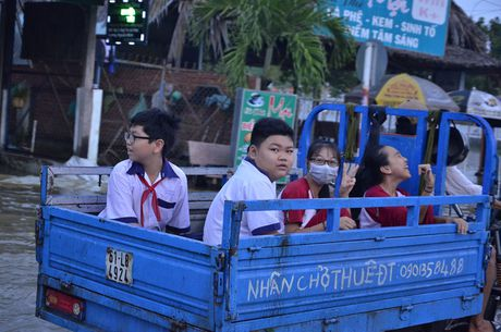 Duong Sai Gon ngap trong bien nuoc vi trieu cuong dat dinh - Anh 5