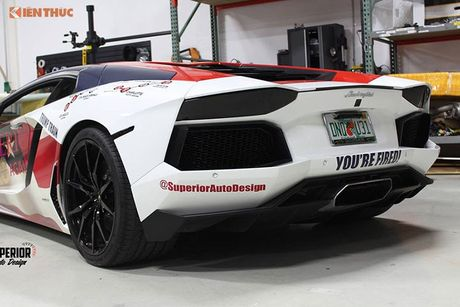Sieu xe Aventador noi tieng nho ung ho Donald Trump - Anh 5