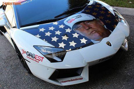 Sieu xe Aventador noi tieng nho ung ho Donald Trump - Anh 7