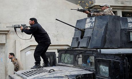 Chien dich giai phong Mosul khoi IS buoc sang tuan thu nam - Anh 1