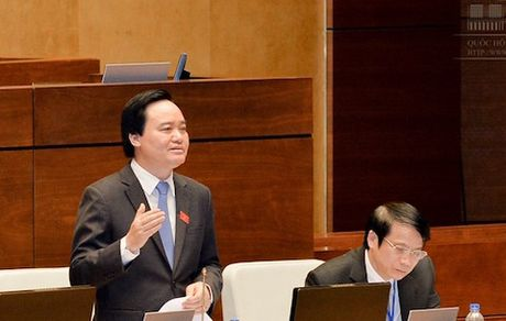 Bo truong Phung Xuan Nha: Toi da noi khong ro y ve viec 'vui ve' - Anh 1
