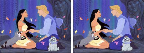 Tim loi sai trong buc anh Disney - Anh 1