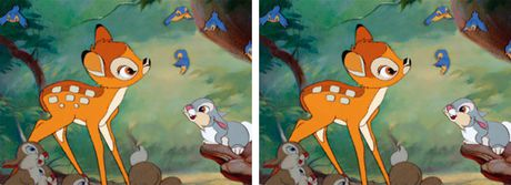 Tim loi sai trong buc anh Disney - Anh 2