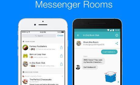 Facebook thu nghiem 'Phong chat' tren Messenger - Anh 1