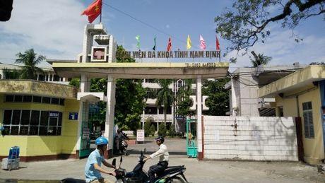 Lien tiep benh nhan tu vong bat thuong tai BV da khoa tinh Nam Dinh - Anh 1