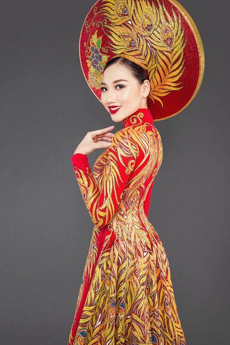 Hoang Thu Thao long lay dien trang phuc dan toc tai Hoa hau Chau A Thai Binh Duong - Anh 5