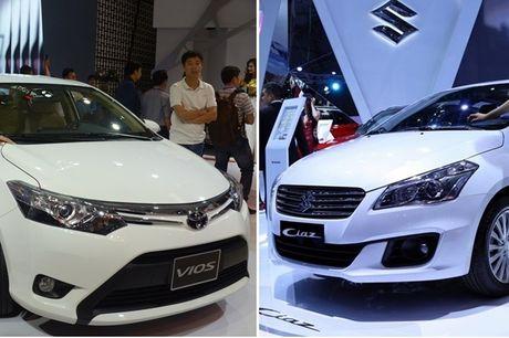 Tan binh Suzuki Ciaz thach dau 'ong hoang' Toyota Vios - Anh 5