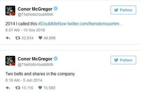 Tin the thao HOT 16/11: McGregor biet ky tich UFC tu 2 nam truoc - Anh 1