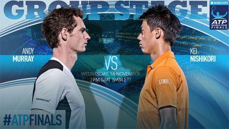 Tennis, ATP Finals ngay 4: Murray va ap luc de nang - Anh 1