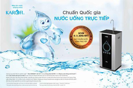O Viet Nam da co may loc nuoc dat chuan uong truc tiep chua? - Anh 1