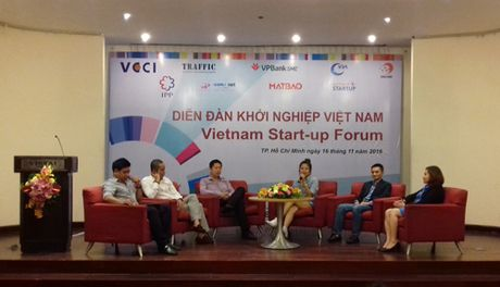 """Moi truong khoi nghiep nhieu bien dong la co hoi cho startup Viet"" - Anh 1"