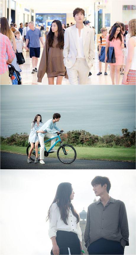 Fan 'nong tung giay' khi hinh anh Lee Min Ho lo truoc gio chieu 'Blue Sea' - Anh 12