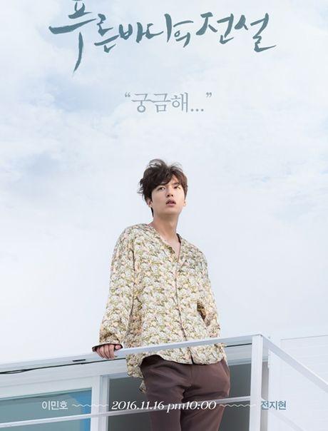 Fan 'nong tung giay' khi hinh anh Lee Min Ho lo truoc gio chieu 'Blue Sea' - Anh 1