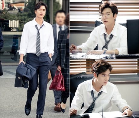 Fan 'nong tung giay' khi hinh anh Lee Min Ho lo truoc gio chieu 'Blue Sea' - Anh 8