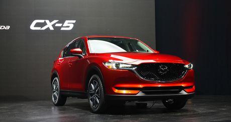 Can canh chiec Mazda CX-5 2017 vua chinh thuc duoc 'trinh lang' - Anh 1