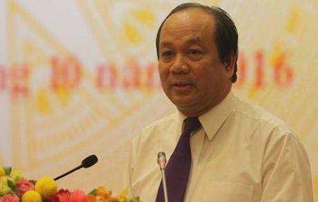 Phai thao luan phuong an xu ly nguyen Bo truong Vu Huy Hoang - Anh 1