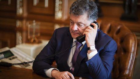 Tong thong Poroshenko moi ong Trump tham Ukraine - Anh 1