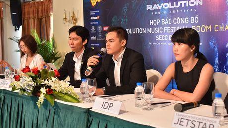 DJ noi tieng the gioi tham du Dai nhac hoi dien tu Ravolution Music - Anh 1