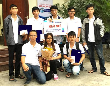 DH FPT vao top truong gianh giai cao nhat cuoc thi lap trinh Samsung - Anh 2
