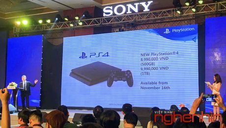 May choi game Sony Play Station 4 Pro ra mat thi truong Viet gia 13 trieu - Anh 2