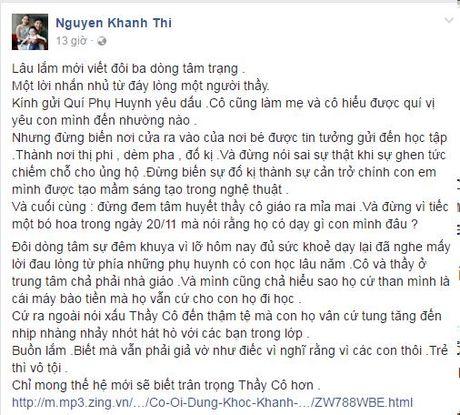 Tam thu cua Kien tuong dancesport Khanh Thi truoc ngay 20/11 - Anh 1