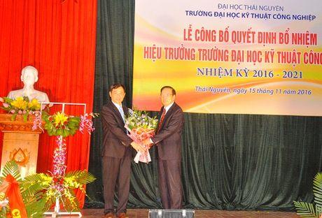 Truong Dai hoc Ky thuat Cong nghiep co Hieu truong moi - Anh 1