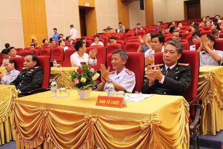 Hoi thi Van nghe: Thanh tra Yen Bai nhat Cum V - Anh 2
