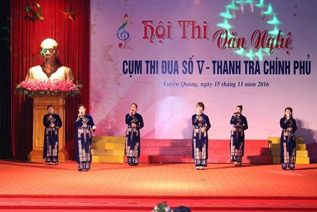 Hoi thi Van nghe: Thanh tra Yen Bai nhat Cum V - Anh 6