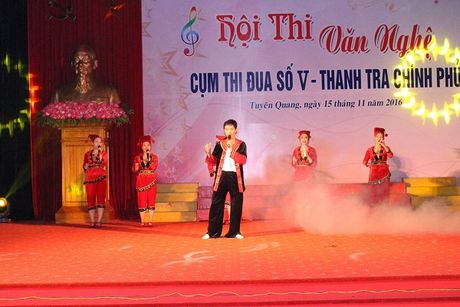Hoi thi Van nghe: Thanh tra Yen Bai nhat Cum V - Anh 8