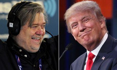 'Canh tay phai' gay nhieu tranh cai cua Donald Trump - Anh 1