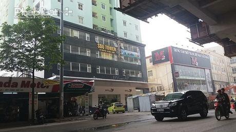 Du an toa nha SDU 143 Tran Phu khong dam bao an toan PCCC - Anh 1
