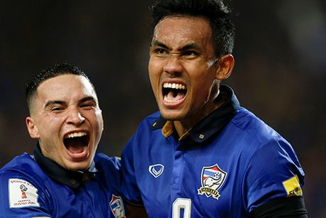 Thai Lan co diem dau tien o vong loai World Cup 2018 - Anh 2