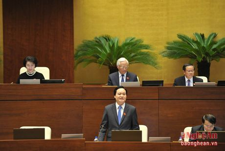 Bo truong Phung Xuan Nha: 'Co tiem an, bien tuong trong hoc them, day them' - Anh 2
